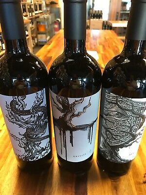 Mount Peak Variety Pack of Big Bold Red Wines Scoring 92-95 Points **3 BOTTLES**