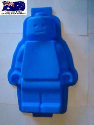 XL Lego Man SIlicone Mould Baking Party Chocolate Jelly Cake Mold
