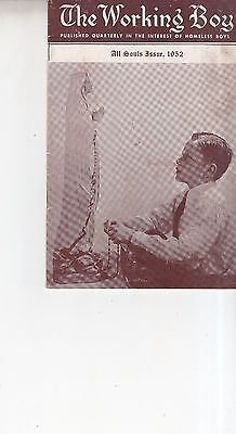 Vintage 1952 The Working Boy Homeless Boys Booklet