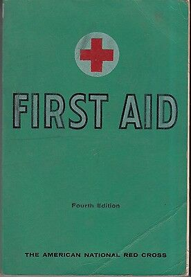 Vintage 1957 Red Cross First Aid booklet