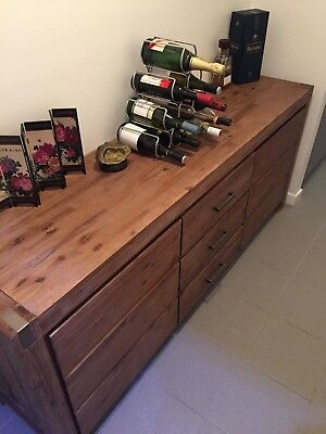 Silverwood Buffet and Bookcase