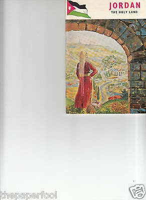 "Vintage 1959 Jordan The Holy Land ""Jordan Tourist Dept"" booklet"