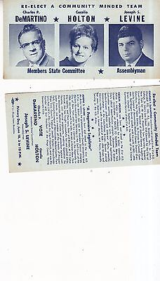 Vintage 1968 Members State Committee Election card