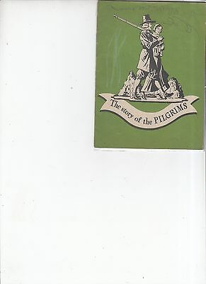 Vintage 1945 The story of the Pilgrims booklet