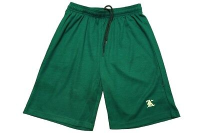 Bottle Green Sport Shorts with embroidered K size 12