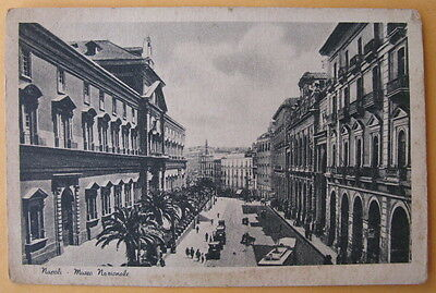 Vintage Postcard, Italy - Napoli - Museo Nazionale- unmarked