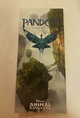 Disney WDW – LE OPENING DAY Park Map - Pandora World Of Avatar MAY 27, 2017 NEW