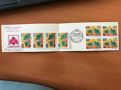 1992 Azerbaijan Persia Joint Issue Rare Old special on booklet Baku