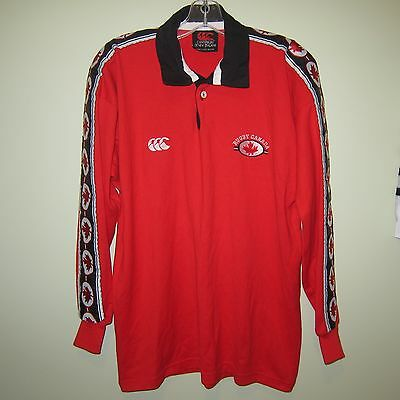 vintage CANADA World Cup 1999 Canterbury Rugby Union long sleeve shirt classic M