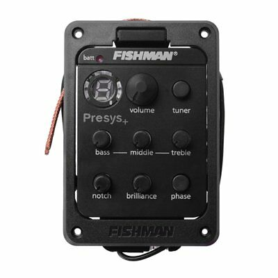 Fishman Onboard Preamp Folk Guitar Pickup Musical Instrument Accessory YF