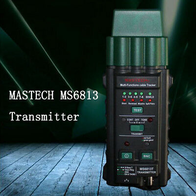 MASTECH MS6813 Network Cable Telephone Line Tester Detector Transmitter RJ45YF