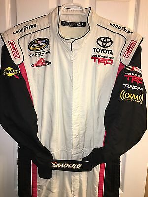 "Nascar DRIVER Fire Suit TODD ""ONION"" BODINE SFI RED HORSE RACING TOYOTA Racing 2"