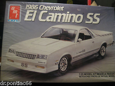 Vinyage Amt 1986 Chevrolet El Camino  Ss  Factory Sealed
