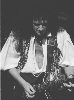 Queen, Brian May, Vintage,  Never Printed! Original 35mm film (1) image