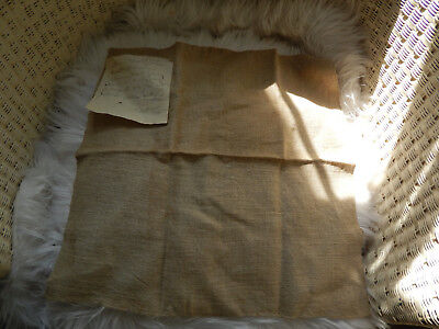 Antique Early Homespun Linen Provenance New England Attic Find ID'd
