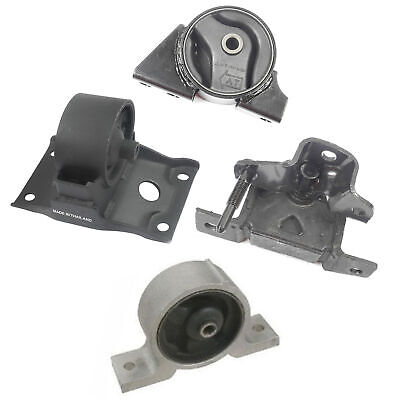 2000-2001 for Nissan Sentra 2.0L for Auto. Front /& Rear Engine Motor Mount 3PCS