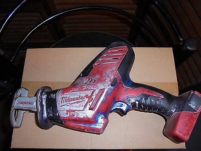 Milwaukee 18V M18 Cordless Compact (One-handed) Reciprocating Saw (Hackzall)
