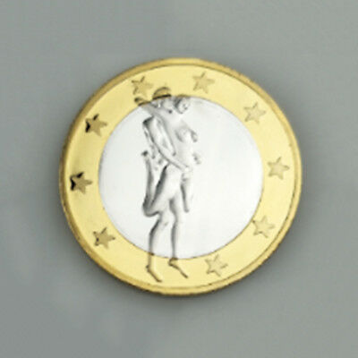 2017 German Two-Color Iron Gold Coin Medal Token Commemorative Arts Gift