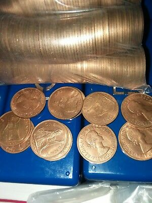 20 Great Britain Pennies, 1964, Britannia seated right
