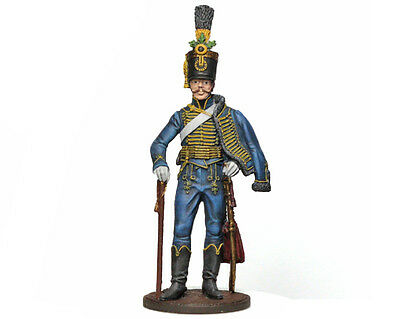 Tin Soldier - Austrian Hussar (Napoleonic Wars) pewter figurine 54 mm