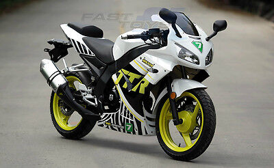 WK BIKES 125 SPORT TTR White ~ LH Left RH Right Fairing Side Panel  Pair ~ US 1