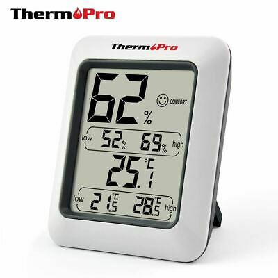 High Accuracy LCD Digital Thermometer Hygrometer Indoor Electronic Temperature H