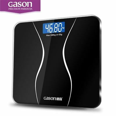 Bathroom Body Scales Glass Smart Household Electronic Digital Weight Balance LCD