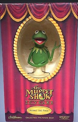 THE MUPPET SHOW KERMIT THE FROG Bust JIM HENSON buste MUPPETS SIDESHOW WETA