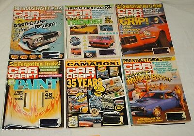 Car Craft Magazine 1988 12 Issues