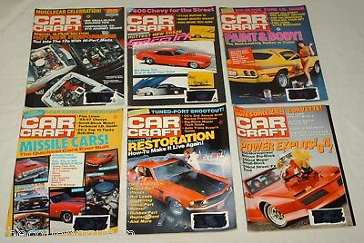 Car Craft Magazine 1989 12 Issues