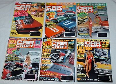 Car Craft Magazine 1991 12 Issues
