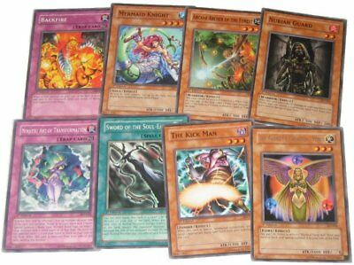 Yugioh 1st Edition Card Set (Lot of 8) - Yu Gi Oh