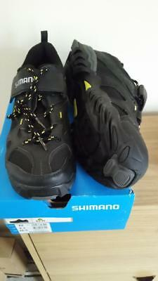 Shimano SH-MT43L cycling shoes in black, Brand new in box, Euro size 46, UK 10.5