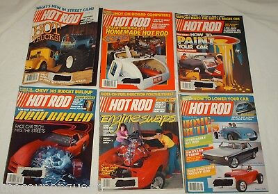 Hot Rod Magazine 1985 12 Issues