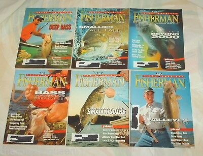 North American Fisherman Magazine 1999-2002,2005, 2008  27 Issues