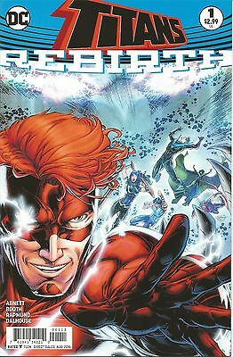 Titans Rebirth #1 | VF/NM | 1st PRINT | Wally West, Nightwing | DC Comics