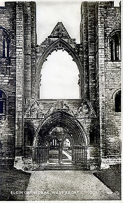 Elgin Cathedral: West Front