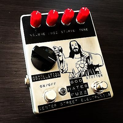Center Street Electronics God Hates Fuzz Boutique Guitar Pedal Hand Made In USA
