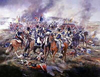 NAPOLEONIC WAR PRINT by WORLD RENOWNED ARTIST CHRIS COLLINGWOOD - WOW  LOOOOK