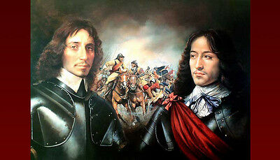 ENGLISH CIVIL WAR PRINT by WORLD RENOWNED ARTIST CHRIS COLLINGWOOD - WOW  LOOOOK