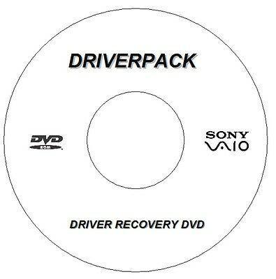 New Sony Vaio  Drivers Disc Driver Recovery For Windows 7 8 10 32 / 64 Bit Dvd