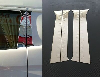 3D Mirror Polished Stainless Steel Chrome Door Pillar Covers for Scania R/L/P/G