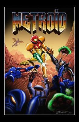 """2651 Hot Video Game - Super Metroid 88 14""""x21"""" Poster"""