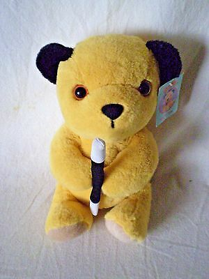 "Sooty Plush Toy Cadells 2009 9"" Tall Tagged"