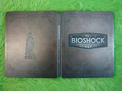 BIOSHOCK COLLECTION The Steelbook Case ONLY (G2 SIZE BLU-RAY PS3 PS4 Xbox One)