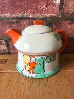 Fabulous Art Deco 1926 Shelley Pottery Boo Boo Teapot by Mabel Lucie Attwell