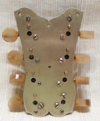 Vintage Mandolin Machine Heads With Built In Back Plate X
