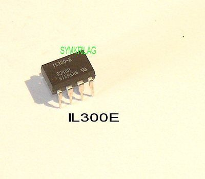 IL300(C or E) LINEAR OPTOCOUPLER HIGH GAIN STABILITY,WIDE BAND. 8DIP