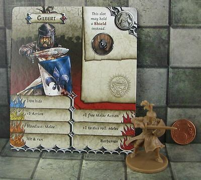 Zombicide Black Plague Promo Hero Gilbert not Sir Bedevere from the Holy Grail