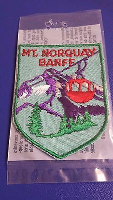 Mt. Norquay Banff Patch New in Package